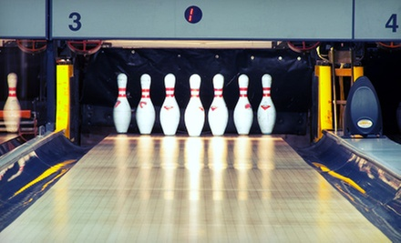 Two Hours of Bowling for Up to 5 or 10 with Pizza and Soda at Kingpin Lanes and Brickhouse Pizza Company (Up to 65% Off)