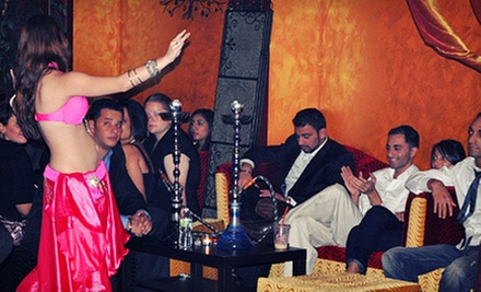 Hookahs and Wine for Two or Four at Kasbah Hookah Lounge (Up to 61% Off)