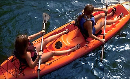 One- or Two-Hour Kayak or Paddleboard Rentals for One or Two at Buena Vista WaterSports (Up to 60% Off)