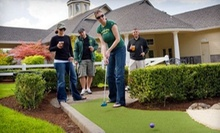 Ten Rounds of Mini Golf, or One Round of Mini Golf for Up to Four at Tualatin Island Greens (Half Off)