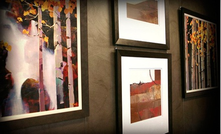 $25 for $100 Worth of Custom Retail Framing at Riveting Frame &amp; Design