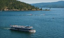$22.75 for a Scenic Lake Cruise for Two from Lake Coeur d'Alene Cruises ($45.50 Value)