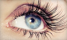 Full Set of Semipermanent Eyelash Extensions with Optional Two-Week Touchup at Eve's Hair Gallery (Up to 65% Off)