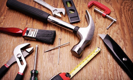 Two or Four Hours of Handyman Services from Handy Helpers (Up to 54% Off)