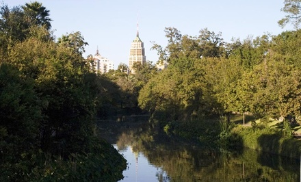 groupon daily deal - 1- or 2-Night Stay for Two at Inn on the Riverwalk in San Antonio. Combine Up to 6 Nights.