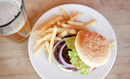 Pub Food and Drinks for Lunch or Dinner at The Pub Indianapolis (Half Off)