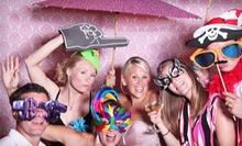 Two or Four-Hour Photo-Booth Rental with Unlimited Prints from Social Confetti Events (Up to 53% Off)