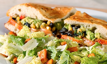 $12 for Gourmet Sandwiches and Sides for Two at Stone Oven ($20 Value)