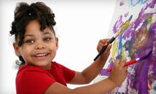 $119 for a Five-Day Kids' Art Camp at Bollywood Arts Performing Center (Up to 52% Off)