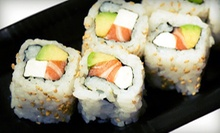 Sushi and Japanese Cuisine at Zen Maru (52% Off). Two Options Available.
