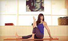 One Month of Unlimited Yoga Classes or 10 or 20 Yoga Classes at Elements Yoga & Wellness Center (Up to 80% Off)