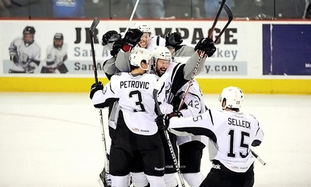 San Antonio Rampage Playoff Hockey Game at AT&T Center on April 29 (Up to 55% Off). Two Seating Options.