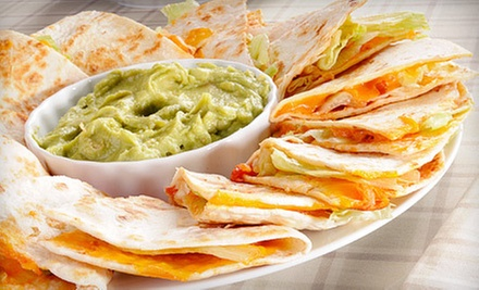 $7 for $14 Worth of Mexican Food for Lunch at Te&#x27;kela Mexican Cocina y Cantina