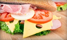 Subs, Salads, and Beef on Weck at Carsons Deli &amp; Bakery (Up to 57% Off). Two Options Available.