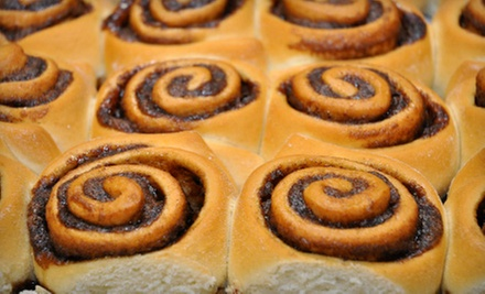 $15 for Three Groupons, Each Good for $10 Worth of Baked Goods at Cinnzeo ($30 Total Value)
