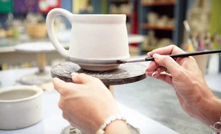 $15 for a Paint-Your-Own Pottery Outing with Factory Tour at Louisville Stoneware ($30 Value)