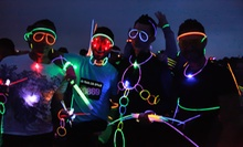 5K Run/Walk Registration for One, Two, or Four at Run to Rave (Up to 61% Off)