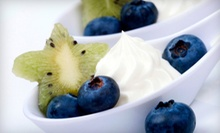 5 or 10 Frozen Yogurts with Toppings at DIY Yogurt (Up to 54% Off)