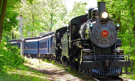 Mt. Cuba Meteor Train Ride for One or Two Adult-Child Pairs at Wilmington & Western Railroad (Up to 56% Off)