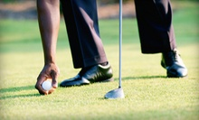 Round of Golf with Cart Rental and Lunch for Two or Four at Gleneagle Golf Course (Up to 51% Off)