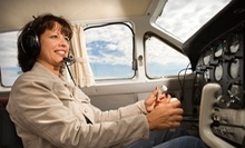 $99 for a Two-Hour Introductory Pilot Flight Experience at Atlantic Aviation ($227 Value)