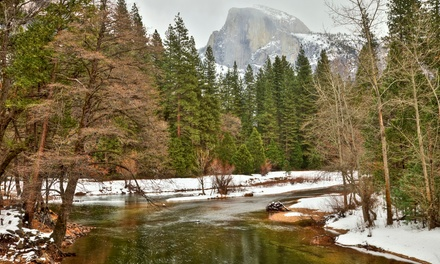 Groupon Deal: 2-Night Stay for Two in a River-View Room and Spa-and-Food Package at Yosemite View Lodge near Yosemite National Park