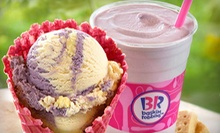 $10 for Four Groupons, Each Good for $5 Worth of Baskin-Robbins Ice Cream ($20 Value)