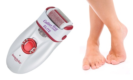 Beautyko Callus Free Elite Dual-Head Rough and Soft 5-in-1 Callus Remover