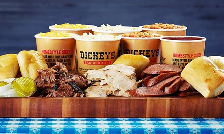 Picnic, Family Pack or $12 for $20 Worth of Barbecue at Dickey's Barbecue Pit