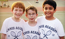 One-Hour Private Tennis Lesson or Four-Day Junior Summer Tennis Camp at Tennis Academy of North Carolina (Up to 58% Off)