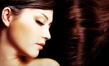 Keratin and Moisture Treatment with Hairstyling and Option for Haircut at Shear Design Salon and Spa (Up to 52% Off)