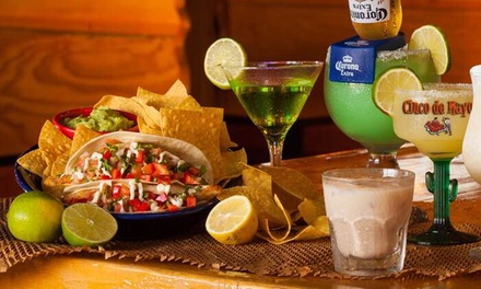 $14 for $25 Worth of Mexican Cuisine at Cinco de Mayo Mexican Restaurant