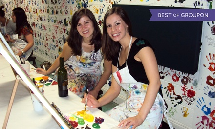 $15 for a Two-Hour BYOB Painting Class at Dip 'n Dab ($30 Value)