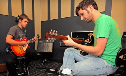 $49 for Four Private Introductory Music Lessons at School of Rock Randolph ($195 Value)