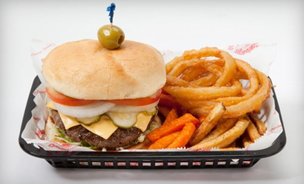 $10 for $20 Worth of Burgers and American Food at Cheeburger Cheeburger