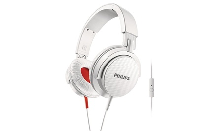 Philips Over-Ear Wired DJ Headphones with Microphone