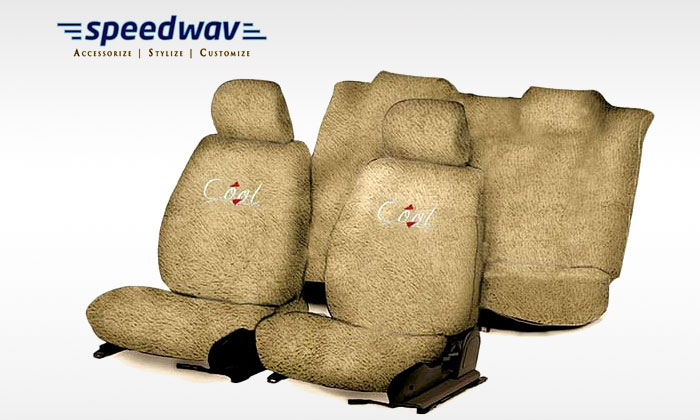 Beige Towel Seat Covers Groupon Rs1099 Extra 10 OFF 20 Cashback Car Bike Accessories