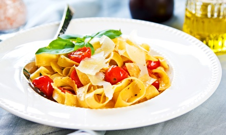Italian Cuisine at Tuscany D'Elsa Italian Restaurant (Up to 42% Off). Three Options Available.