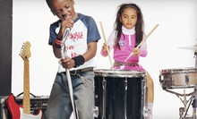One, Two, or Three Weeks of Summer Kids Rock Camp at School of Groove (Up to 59% Off)