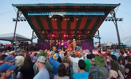 Virginia Key Grassroots Festival at Historic Virginia Key Beach Park on Saturday, February 21 (Up to 33% Off)