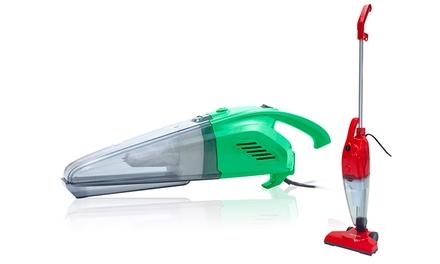 Aspirador elétrico 2 em 1 Tango Stick em verde ou vermelho por 29,95 €