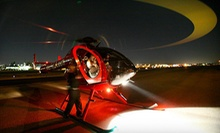 Twilight Tour of Los Angeles for 2 or 4 with Champagne and Chocolate from Adventure Helicopter Tours (Up to 57% Off)