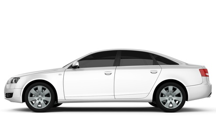 Window Tinting for a Full Sedan or SUV or Tinting for Two Windows at The Tint Spot (Up to 57% Off)
