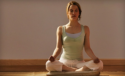 Eight Yoga Classes or One Month of Unlimited Yoga Classes at The Center of Bliss, LLC (Up to 71% Off)