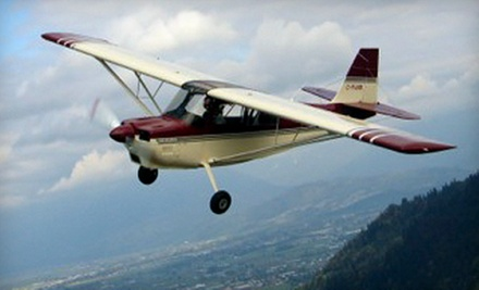 $189 for a TailWheel Aircraft Ride-Along Flight from San Carlos Flight Center ($380 Value)