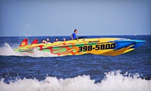 $27 for a Speedboat Dolphin Tour with Digital Photo from Stormin Shore Water Sports, LLC ($54 Value)