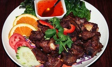 Thai Meal for Two or Four for Dinner at Chang Puak - White Elephant Restaurant (51% Off)