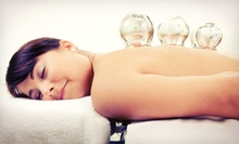 One or Three Detoxification Cupping Massages at Primary Elite Chiropractic (Up to 61% Off)
