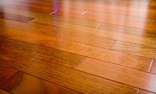 Hardwood Floor Cleaning and Polishing or Refinishing from Eco-Clean NW (Up to 67% Off)