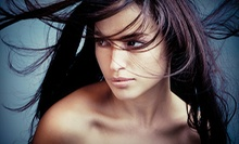 Haircut and Style with Optional Color or Partial Highlights at Azalea Salon and Boutique (Up to 59% Off)